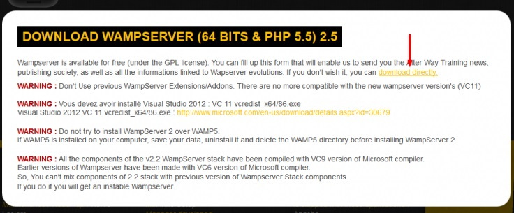 free download wamp server for windows 8