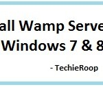 Installing WAMP Server in Windows 7 & 8