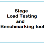 Siege a simple load testing and benchmarking tool